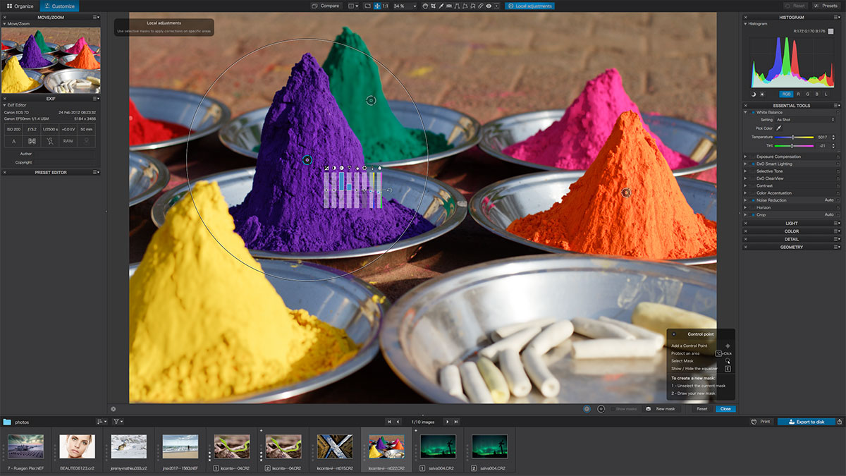 DxO Photolab photo editing software