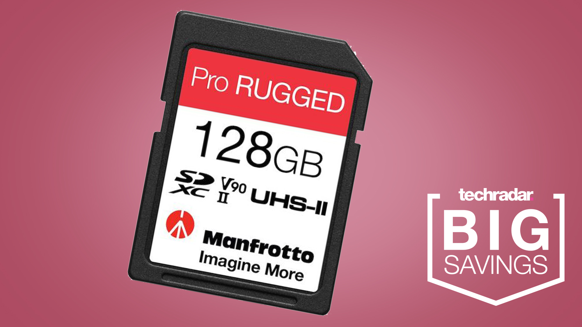 Manfrotto's new waterproof SD cards are a serious bargain at 50% off