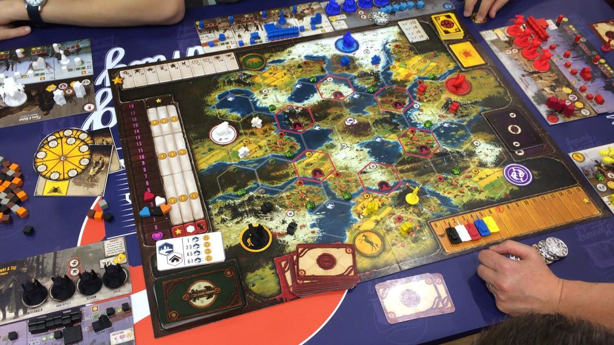 The Best Board Games 2015 Pc Gamer