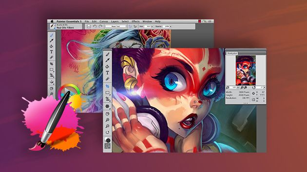 Amazon.com: Corel Painter Essentials 4 (Win\/Mac) (Old Version)