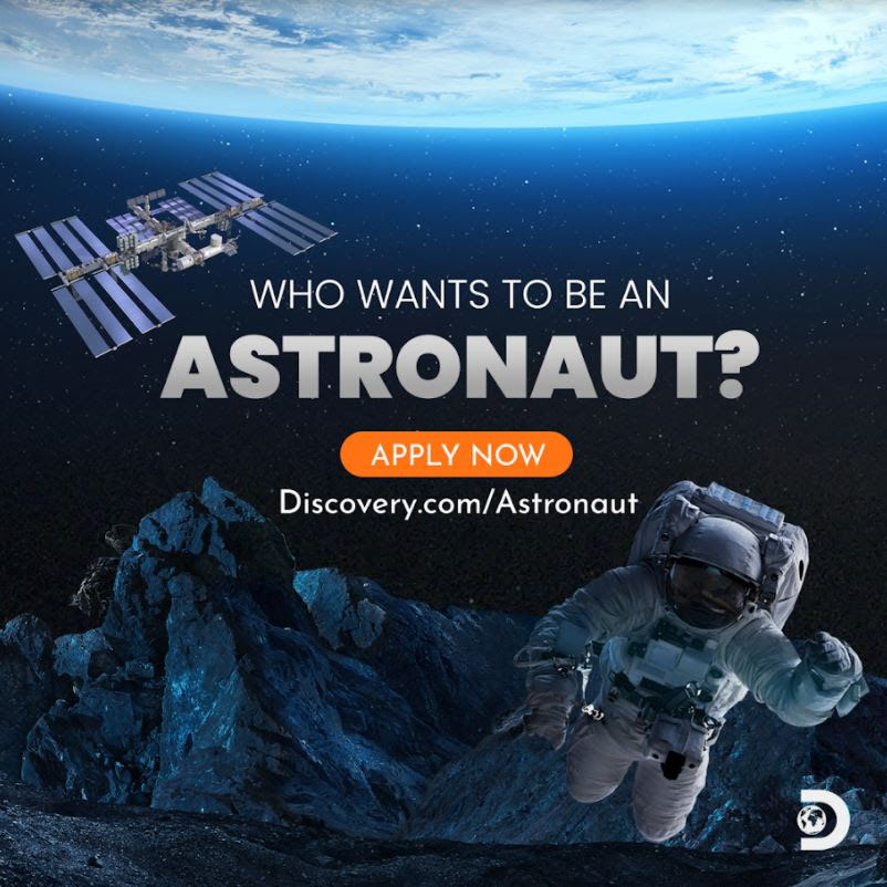<p>Discovery Channel's'Who Wants To Be An Astronaut' will launch a contest winner into orbit with Axiom Space thumbnail