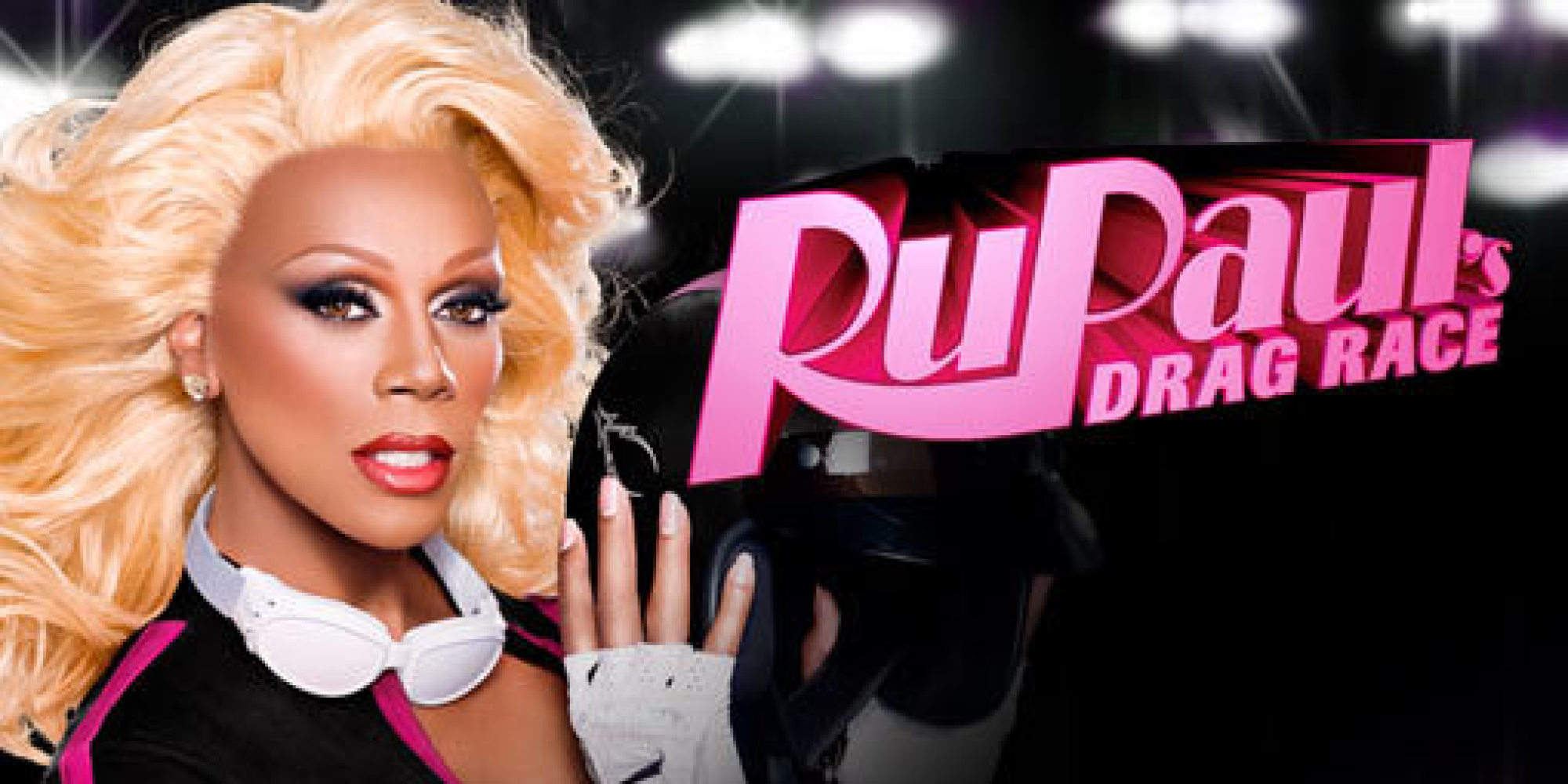 A promo shot for RuPaul's Drag Race