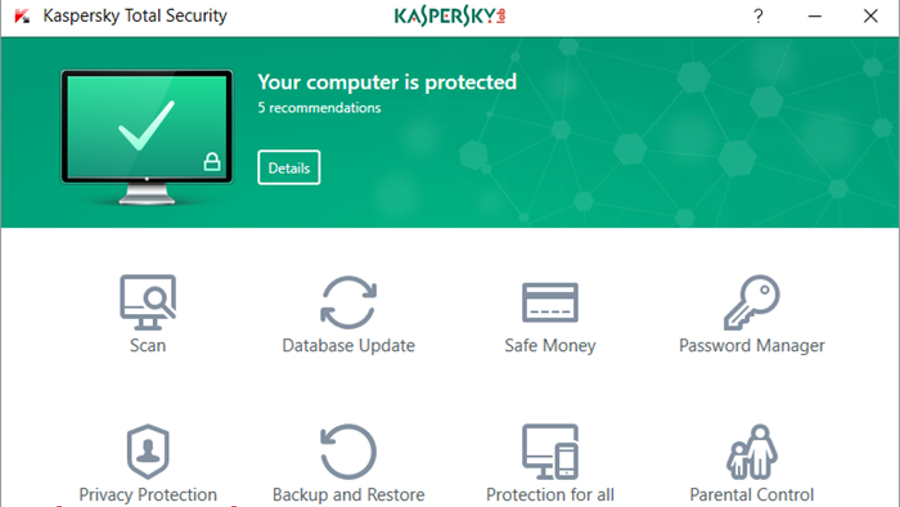 Despite the recent controversy behind Kaspersky's products, the brand (and its Total Security solution) remains one of the most popular in the security market