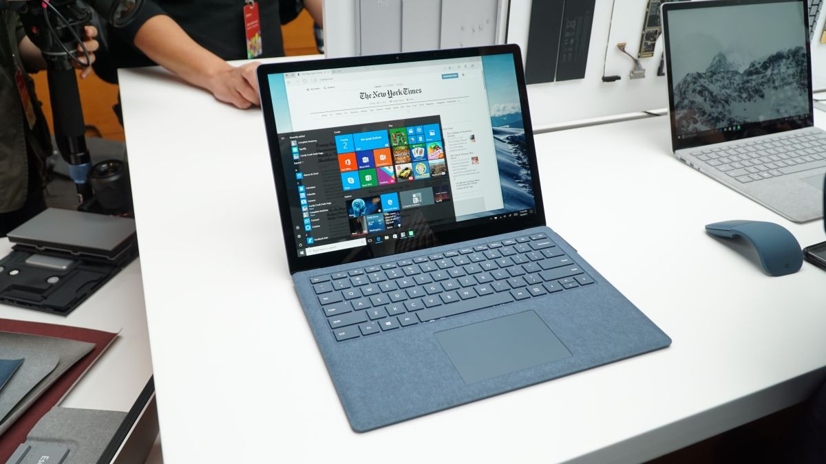 Microsoft Surface Laptop hands on review
