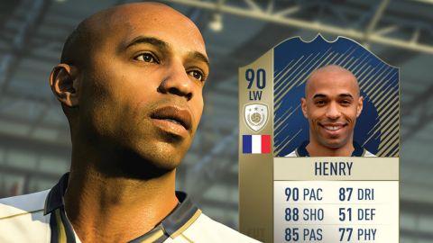 Kết quả hình ảnh cho Thierry Henry, FIFA 18 Ultimate Team