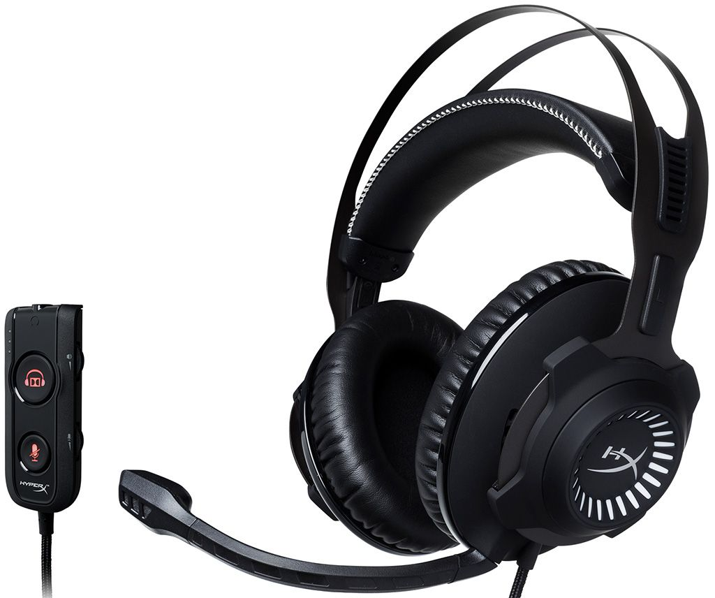 Kingston starts shipping HyperX Cloud Revolver S headset | PC Gamer