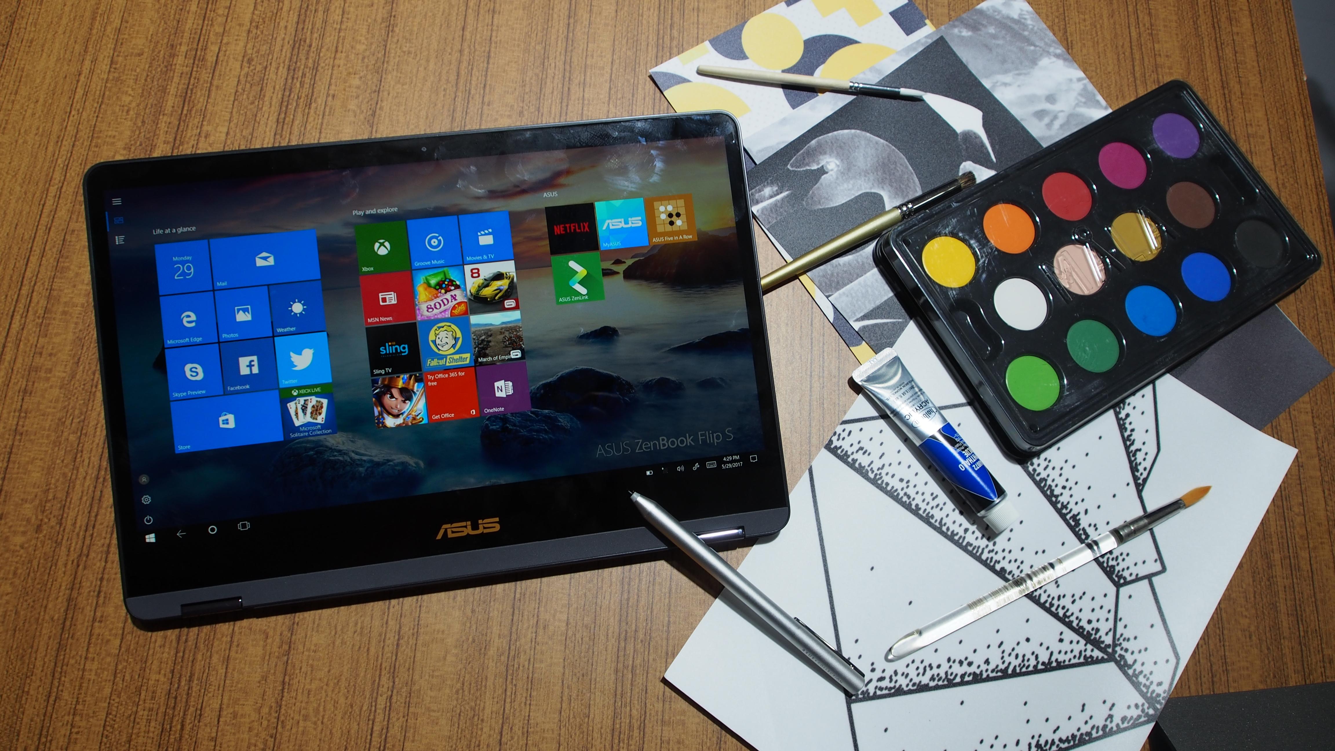 Kết quả hình ảnh cho Asus ZenBook Flip S
