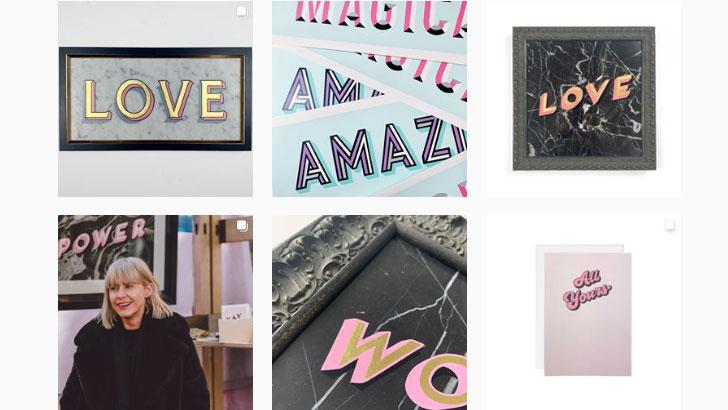 Instagram tips: Daisy Emerson's feed