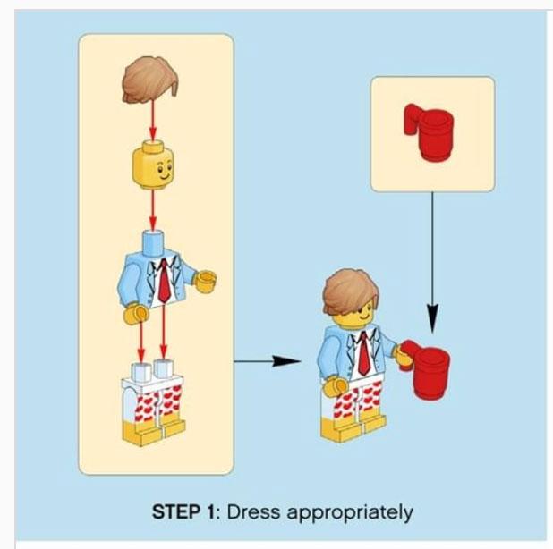Lego step 1