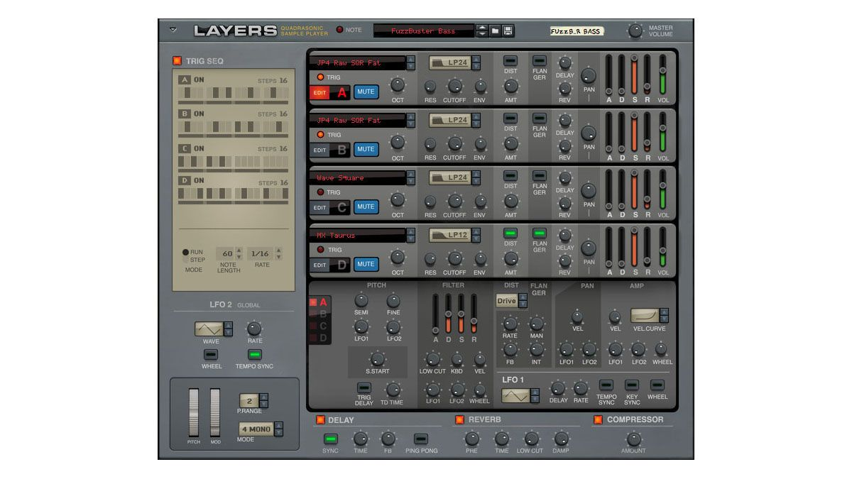 propellerhead s new rack extension lets you layer classic 80s and 90s synth samples musicradar. Black Bedroom Furniture Sets. Home Design Ideas