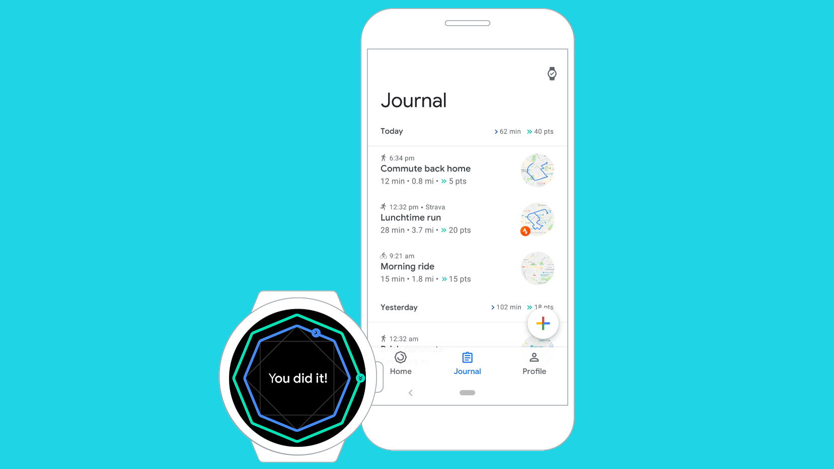 Google Fit update focuses on upping your heart rate with