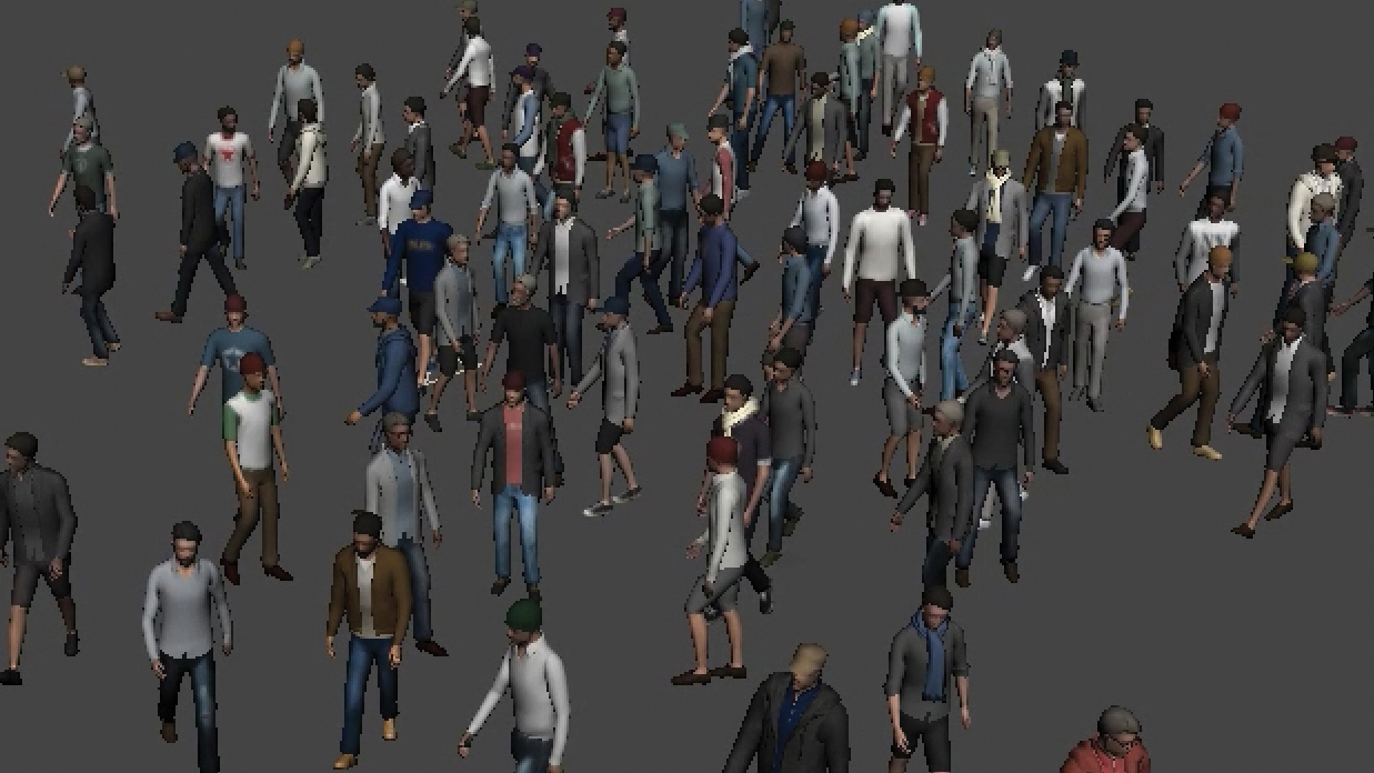 Create Massive crowd scenes