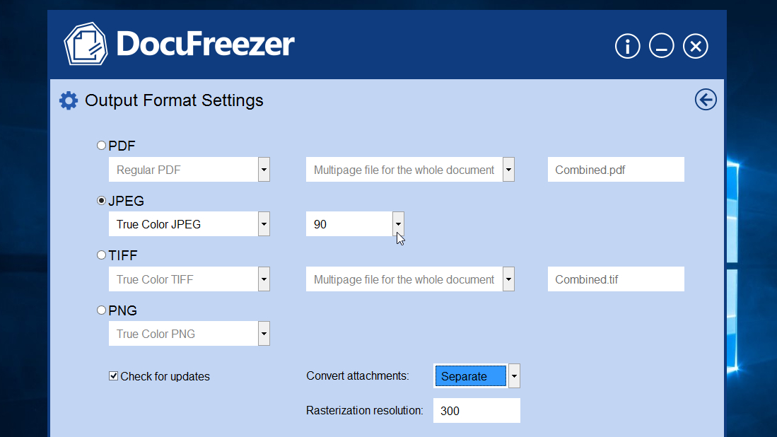 Image result for docufreezer pdf converter