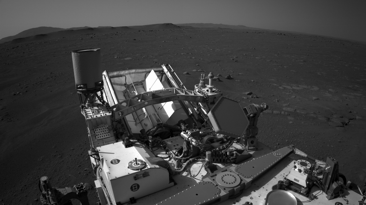 View the astonishing movie of Perseverance landing on Mars thumbnail