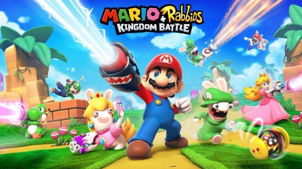 Mario + Rabbids Kingdom Battle is going to be the weirdest game at E3 2017