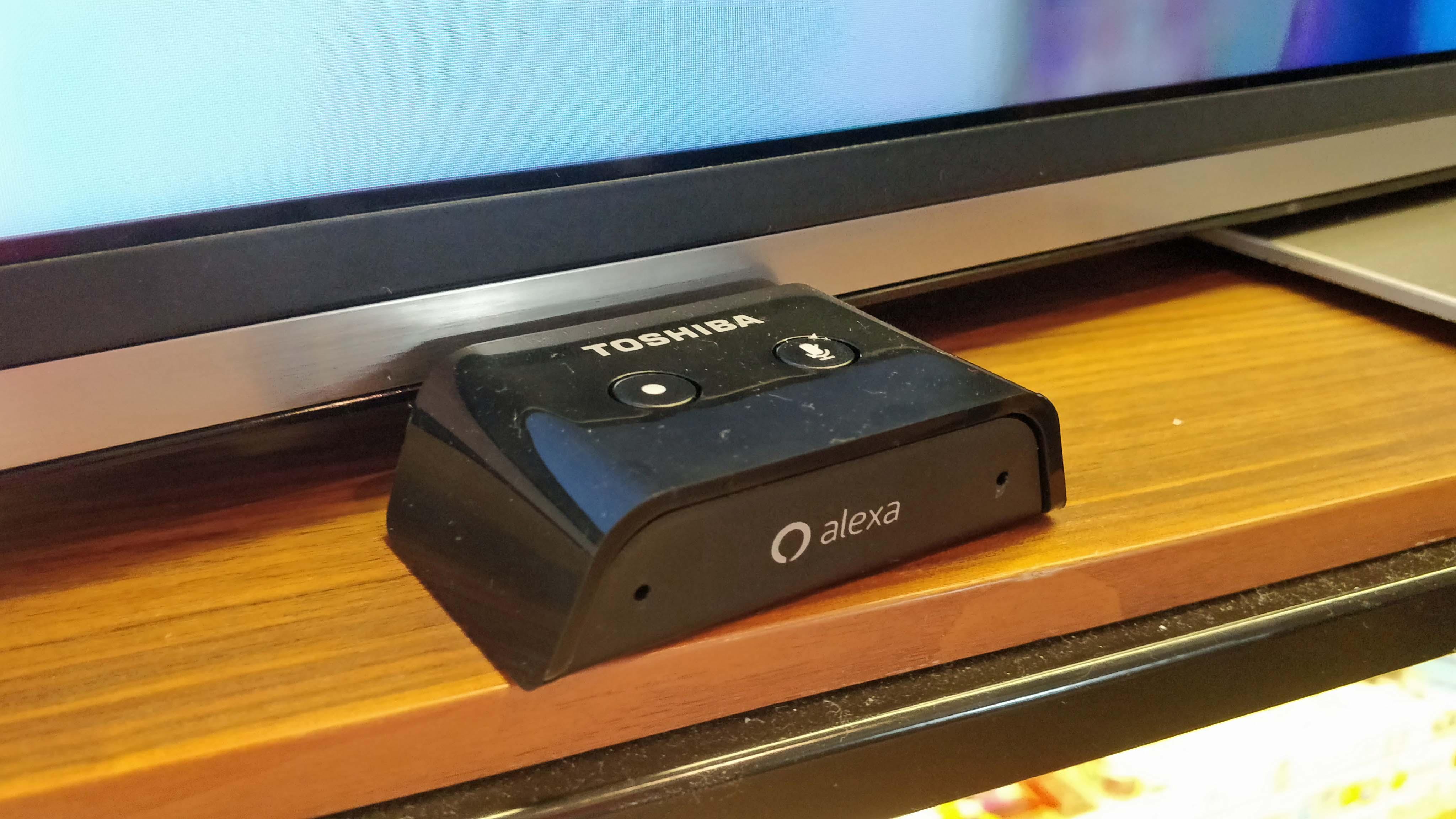 zxD9tE7j63o4dyy5wKez5S - Toshiba's new 4K TVs come with a plug-in Alexa microphone