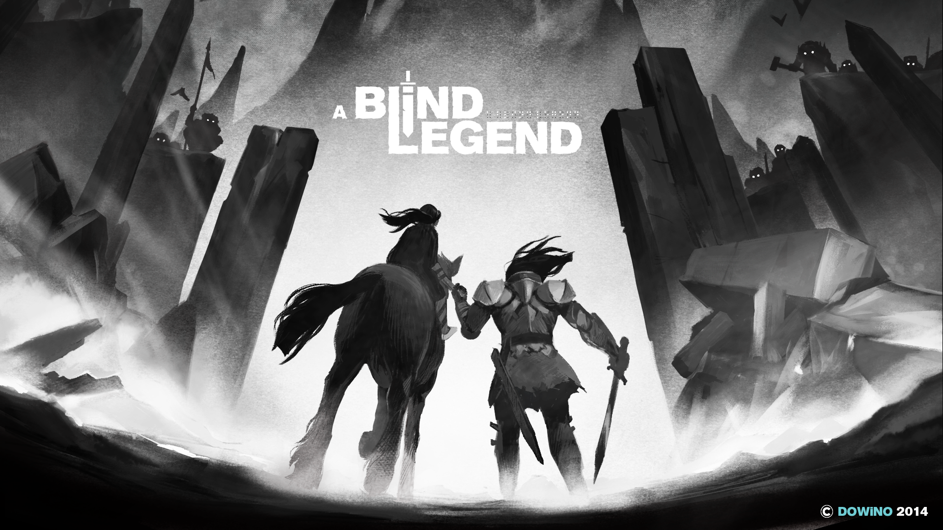 A game about a blind knight, played entirely with sound