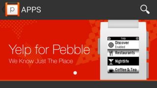Watch out the Pebble app store for iOS and Android drops on Monday