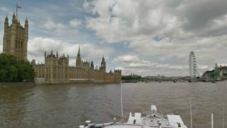 Google Street View lets you sail down the Thames""