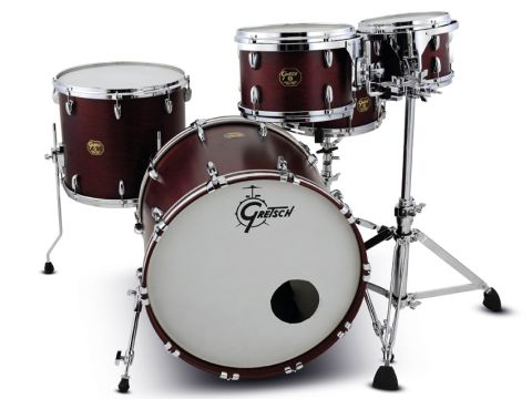 USA Standard drums feature the same 6-ply maple shell recipe that made Gretsch famous.