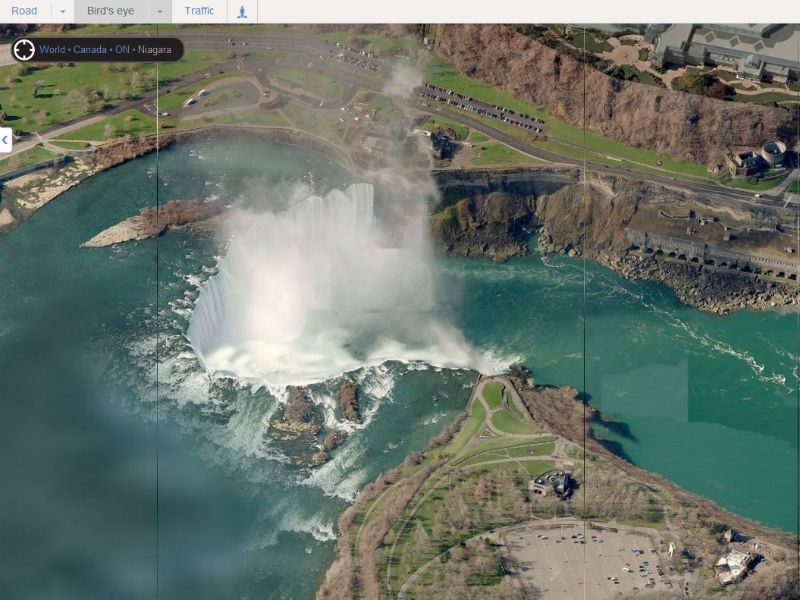 bing  google maps add high