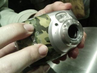 Canon's camouflaged Powershot G10