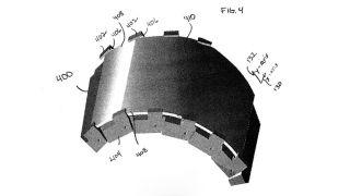 Motorola flexible display patent
