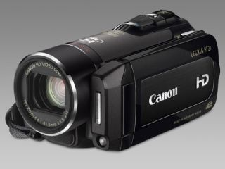 64GB of Flash storage in Canon's new HF21 camcorder