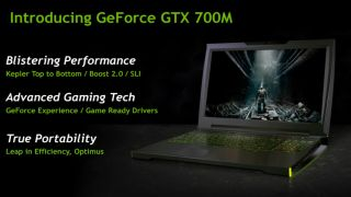 Notebook gaming gets serious with Nvidia GeForce 700M series