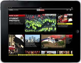 Sky News app for iPad - stunning