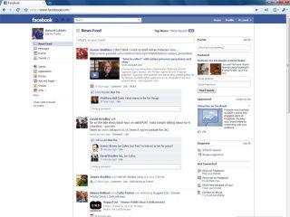 Unfriending Facebook - user figures fall