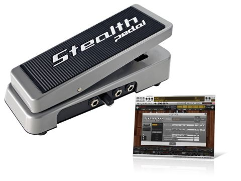 StealthPedal can be used with AmpliTube and configured as a standard MIDI device.