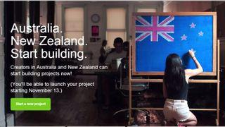 Kickstarter Australia and New Zealand
