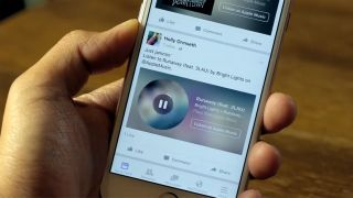 Facebook unveiled Music Stories, allowing music streaming from your iPhone app