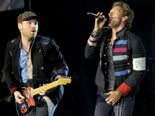 Jonny Buckland and Chris Martin are filled with 'glee' over their upcoming album