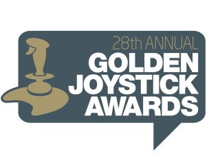 Golden Joysticks like an Oscar with an autofire button