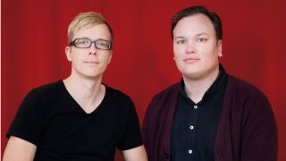 Heads of industry Kalle Paulsson left and Leo Nathorst B s right