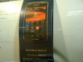The BlackBerry Storm 2 outed in The Carphone Warehouse