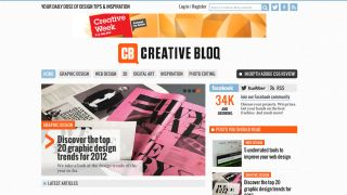 Creative Bloq launches for design fanatics