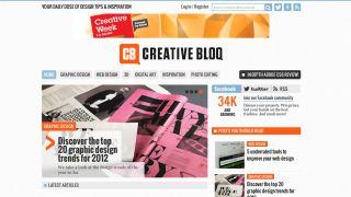 Creative Bloq launches for design fanatics