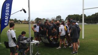 Wallaby Coaching box
