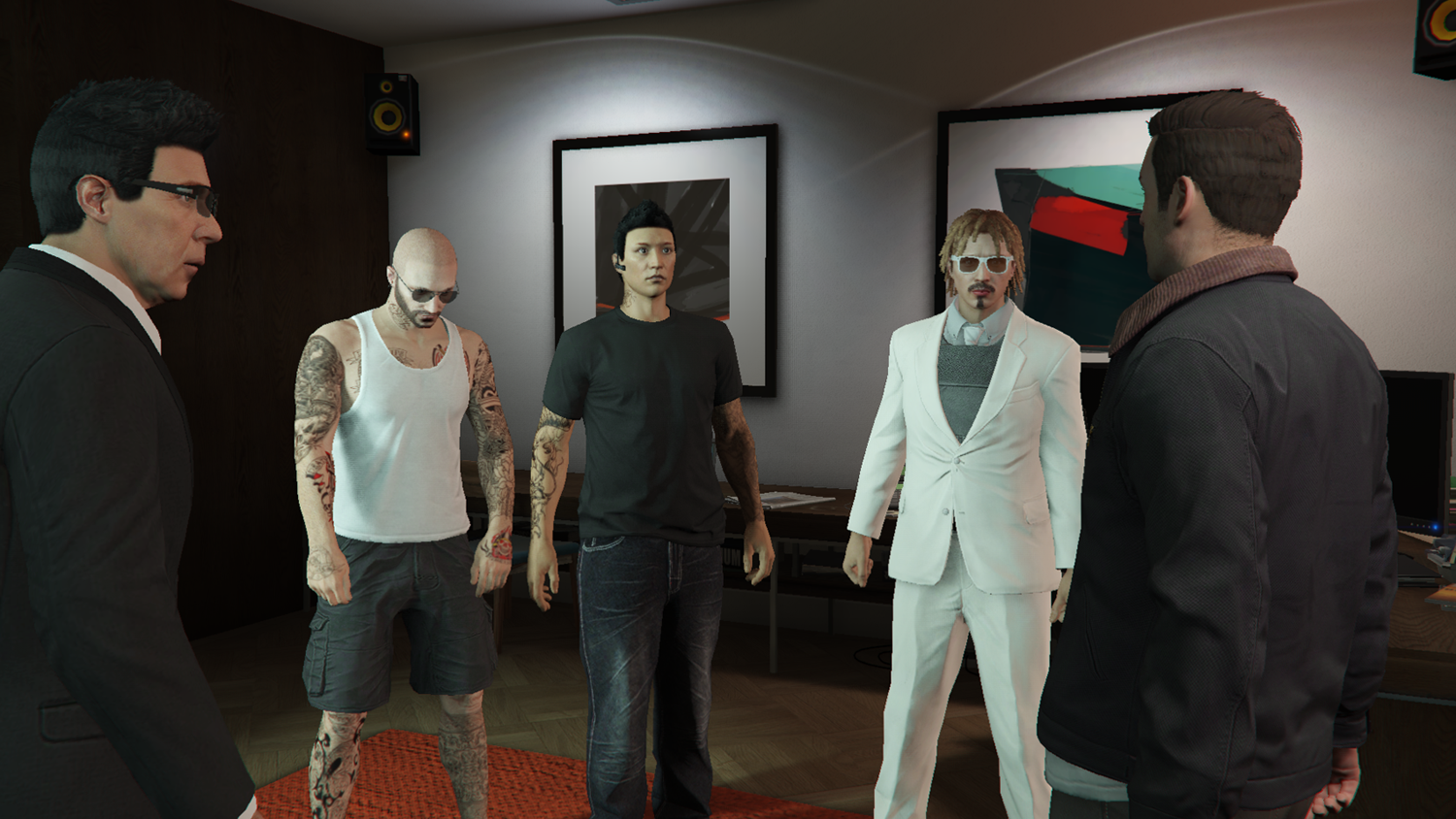 How to play GTA 5 heists with complete strangers | PC Gamer