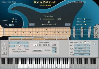 RealStrat doesn't sound quite like a real Strat, but it's not far off.