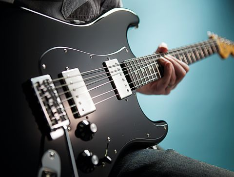 Fender's synchronized vibrato adds to the Strat's vintage feel