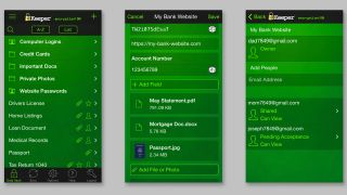Keeper Security apps passwords file sharing