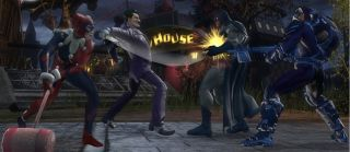 Batman n Joker Fight