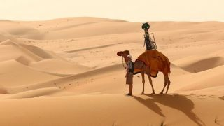Google Street View on a camel