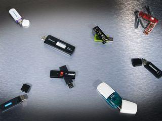 USB sticks forgettable