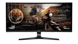 LG 21:9 gaming monitor