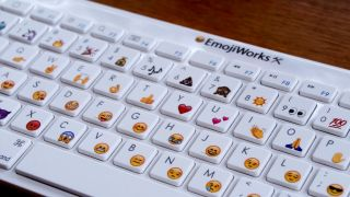 You can buy a real life emoji keyboard